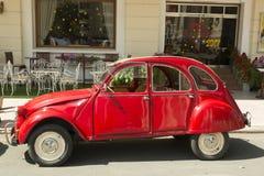Automobile del oldtimer di Citroen 2CV Fotografie Stock Libere da Diritti