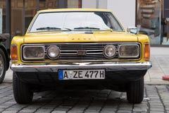 Automobile del oldtimer di Ford Taunus GT Fotografia Stock Libera da Diritti