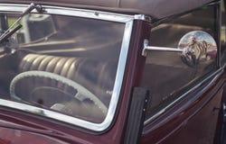 Automobile del oldtimer del volante del tergicristallo Fotografia Stock