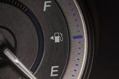Automobile del pannello dell'olio del primo piano Fotografie Stock