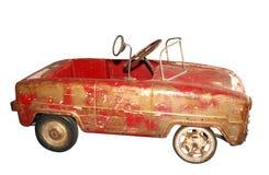 Automobile del pedale dell'oggetto d'antiquariato fotografie stock