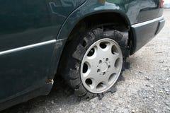 Automobile del pneumatico Fotografia Stock