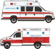 Automobile del pronto soccorso Fotografia Stock