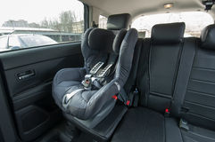 Automobile del sedile del bambino Immagini Stock