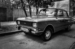 Automobile del Soviet di Moscvich Immagini Stock Libere da Diritti