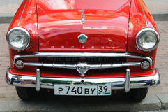 Automobile del Soviet di MOSKVICH 402 Fotografia Stock