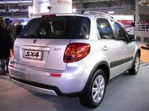 Automobile del Suzuki SX4 sull'esposizione di automobile di Belgrado Fotografie Stock