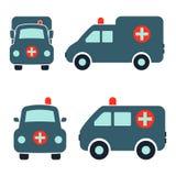 Automobile dell'ambulanza Immagini Stock Libere da Diritti