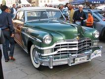 Automobile dell'americano dell'annata Fotografie Stock Libere da Diritti