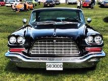 Automobile dell'americano di stelle e strisce Fotografia Stock Libera da Diritti