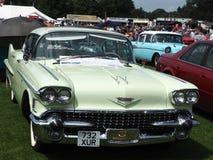 Automobile dell'americano di stelle e strisce Fotografia Stock