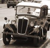 Automobile dell'annata con la tonalità di seppia Fotografie Stock Libere da Diritti