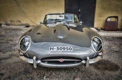 Automobile dell'annata del veterano di Jaguar E fotografia stock libera da diritti
