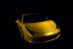 Automobile dell'annata di Ferrari Immagine Stock Libera da Diritti
