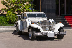 Automobile dell'automobile scoperta a due posti di Excalibur Immagini Stock