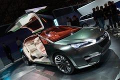 Automobile dell'ibrido di concetto di Subaru Fotografie Stock Libere da Diritti