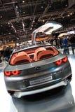 Automobile dell'ibrido di concetto di Subaru Immagini Stock Libere da Diritti