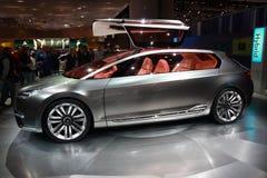 Automobile dell'ibrido di concetto di Subaru Immagine Stock Libera da Diritti