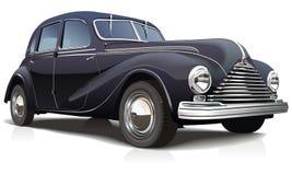 Automobile dell'illustrazione di vettore retro Fotografia Stock
