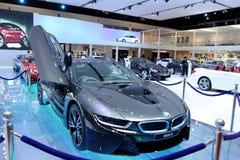 Automobile dell'innovazione di serie I8 di BMW Fotografia Stock