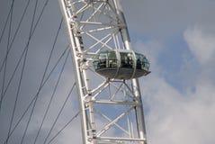 Automobile dell'occhio di Londra fotografie stock libere da diritti