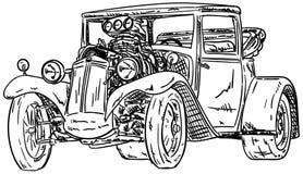automobile della Caldo-barretta illustrazione vettoriale