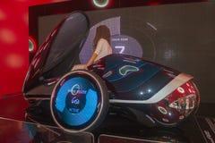 automobile della città del futuro Immagine Stock