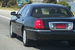 Automobile della città sull'autostrada senza pedaggio Fotografia Stock Libera da Diritti