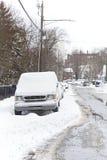 Automobile della neve Immagini Stock Libere da Diritti