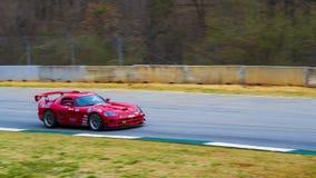 Automobile della pista della vipera di Dodge Fotografie Stock