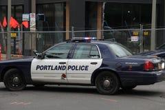 Automobile della polizia Immagine Stock
