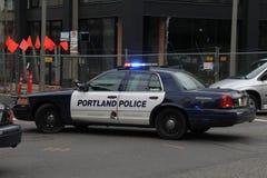 Automobile della polizia Fotografia Stock Libera da Diritti