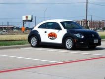 Automobile della polizia del geek di Best Buy Fotografie Stock