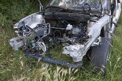 Automobile della roba di rifiuto Fotografia Stock Libera da Diritti