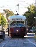 Automobile della via di San Francisco Fotografia Stock Libera da Diritti