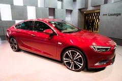 Automobile delle insegne di Opel Fotografie Stock