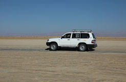 Automobile in deserto Fotografie Stock