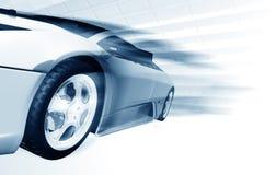 Automobile di accelerazione immagini stock libere da diritti