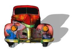 Automobile di arte Illustrazione di Stock
