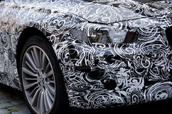 Automobile di BMW del prototipo vicino a Monaco di Baviera Fotografie Stock Libere da Diritti