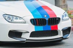 Automobile di BMW M6 su esposizione Fotografie Stock Libere da Diritti