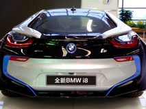 Automobile di BMW su esposizione Immagini Stock
