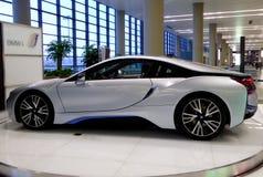 Automobile di BMW su esposizione Immagine Stock