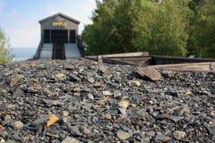 Automobile di carbone Immagine Stock