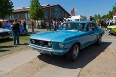 Automobile di cavallino Ford Mustang, ( in primo luogo, generation) , Hard top Immagini Stock Libere da Diritti