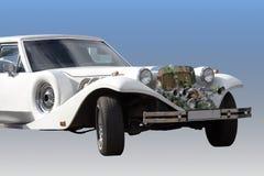 Automobile di cerimonia nuziale Immagini Stock