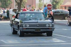 Automobile di Chevrolet Impala ss su esposizione Fotografie Stock