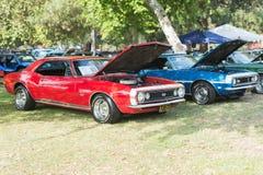 Automobile di Chevrolet ss Camaro su esposizione Immagini Stock