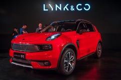Automobile di CO & di LYNK 01 Fotografia Stock Libera da Diritti