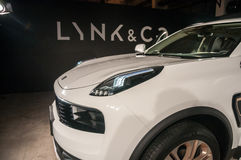 Automobile di CO & di LYNK 01 Fotografia Stock